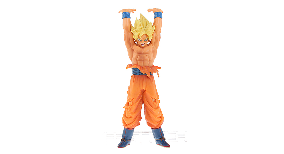 Dragon Ball Super Saiyan Genki damaSpirit Bomb Son Goku Action Figure Toy