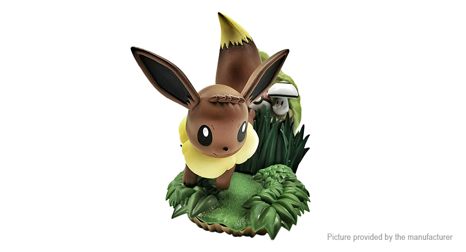 Pocket Monster Eevee Action Figure Toy