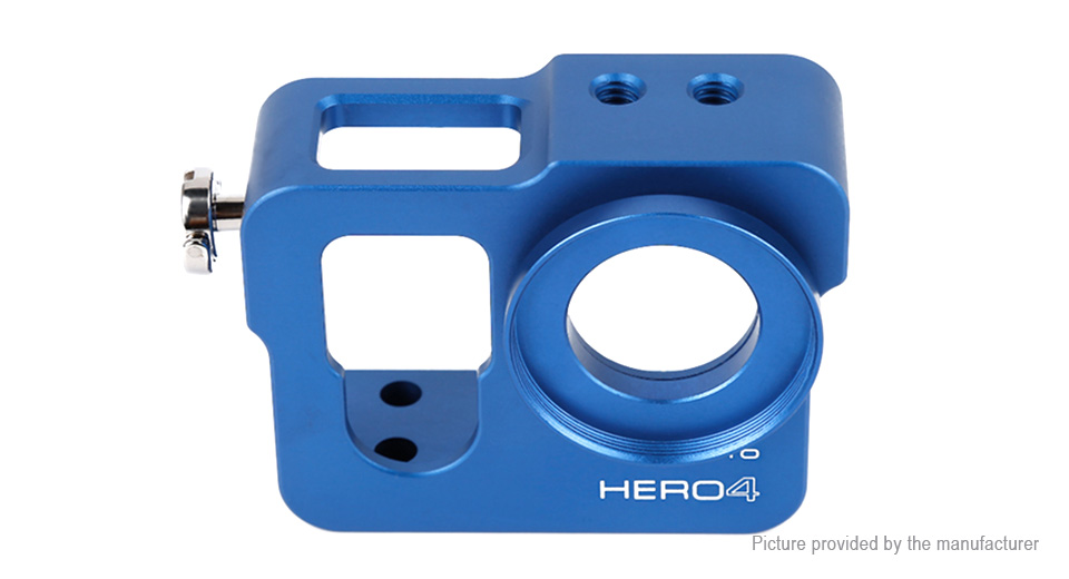 Aluminum Alloy Protective Frame Case for GoPro HERO4 / HERO3+