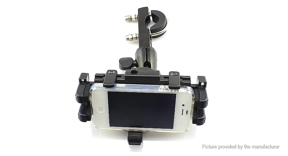 WUPP 2-in-1 Motorcycle Handlebar Mount Cell Phone Holder