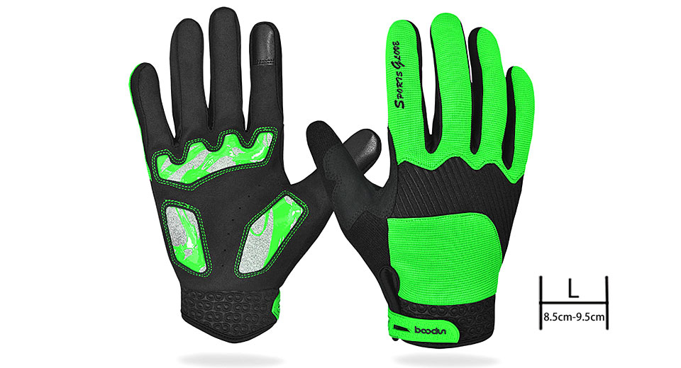 BOODUN Unisex Outdoor Cycling Full-finger Warm Keeping Gloves (Size L)