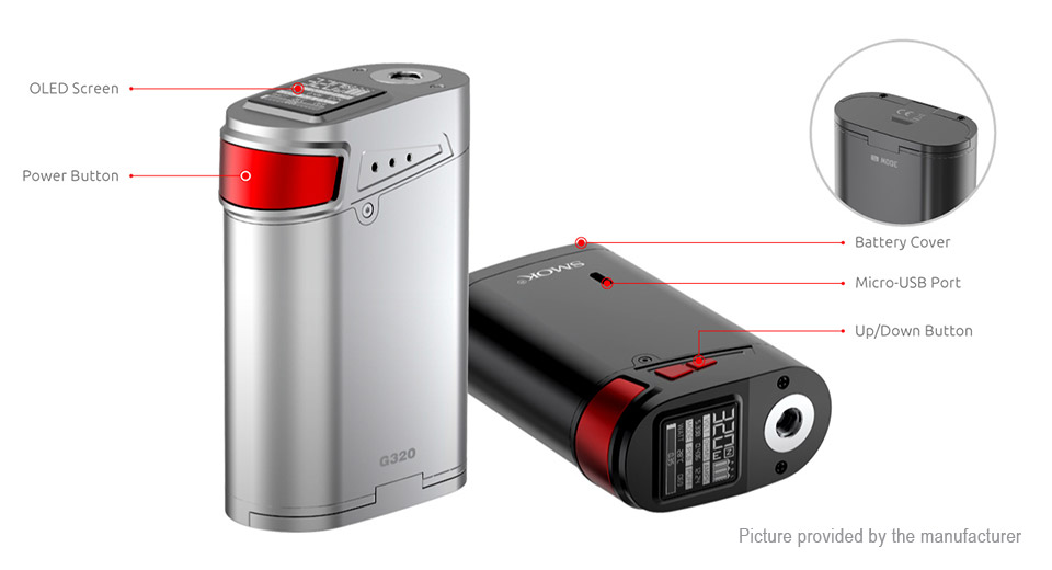 SMOK G320 $56.66 down from $70.00!