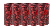 Buy Authentic Clrane Protective Silicone Sleeve Case Smoktech SMOK Alien 220W Mod (5-Pack) 220W, Red, 5-Pack (skull)
