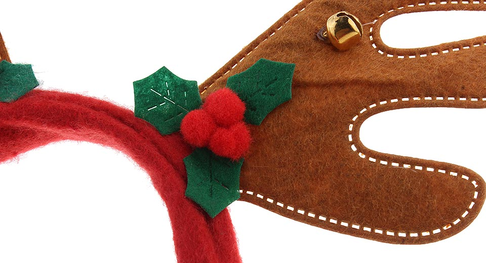 Image of Antler Styled Christmas Party Decoration Headband Hair Band (2-Pack)