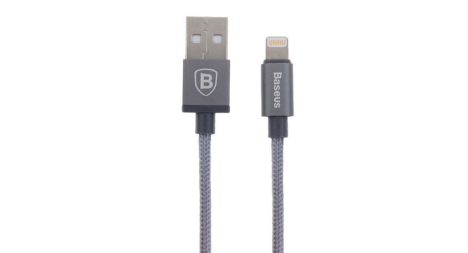 Baseus AntiLa Series 8-pin to USB 2.0 Braided Data Sync / Charging Cable (Simple Version)