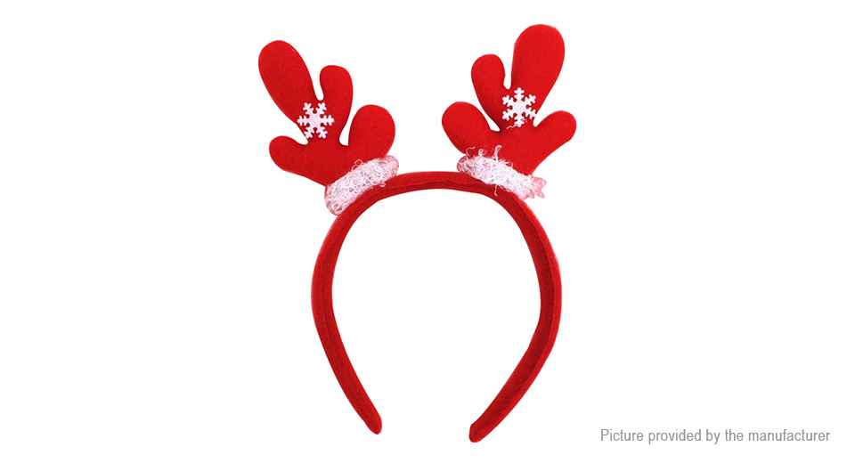 Image of Antler Styled Christmas Party Decoration Headband Hair Band