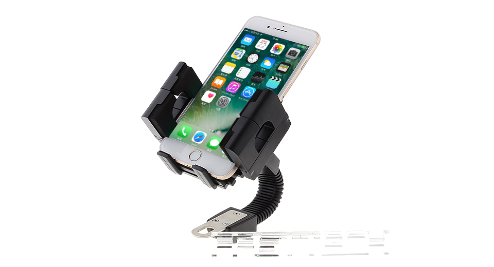 FLY S-2010 Motorcycle Rearview Mirror Mount Cell Phone Holder Stand