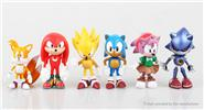 Buy Sonic The Hedgehog Figure Doll Toy Set (6-Piece Set), Sonic The Hedgehog, 6-Piece Set for $12.24 in Fasttech store