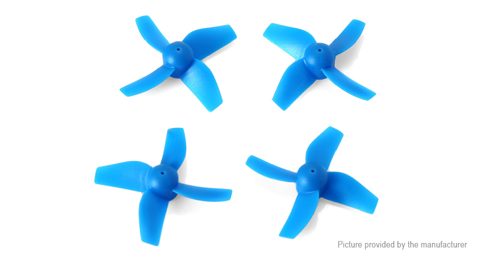 Authentic JJRC CW/CCW Propeller for H36 R/C Quadcopter (2 Pairs)