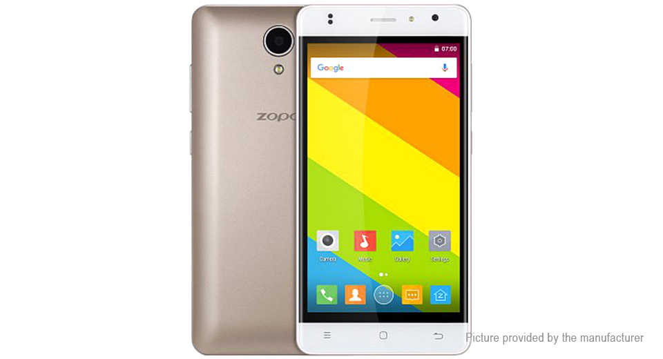 ZOPO Color C2 5 IPS Quad-Core Marshmallow 3G Smartphone (8GB/EU)