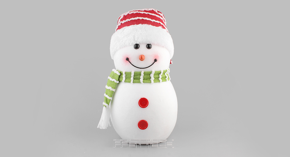 Snowman Styled Doll Toy Christmas Ornament Home Decor