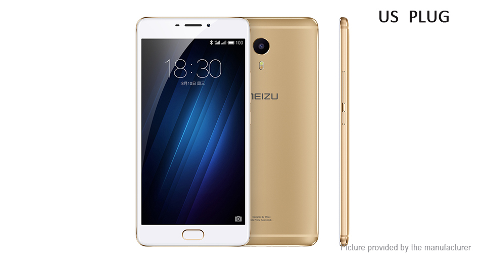 Authentic MEIZU M3 Max 6 IPS LTE Smartphone (64GB/US)