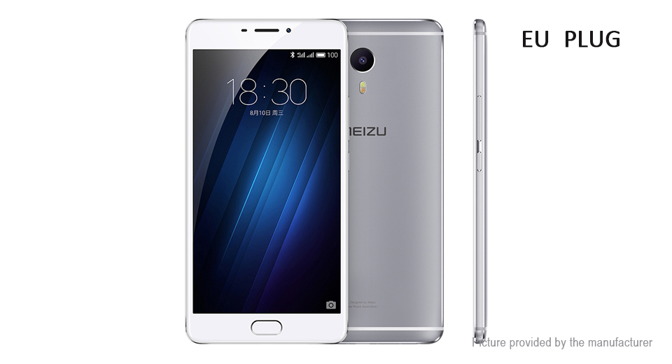 "Authentic MEIZU M3 Max 6"" IPS LTE Smartphone (64GB/EU)"