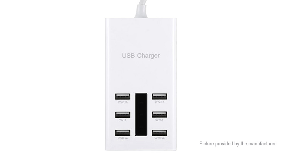 Product Image: 6-port-usb-wall-charger-power-adapter-uk