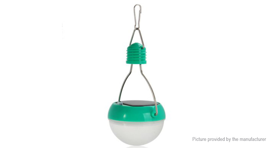 N300 Solar Powered LED Hanging Camping Emergency Light