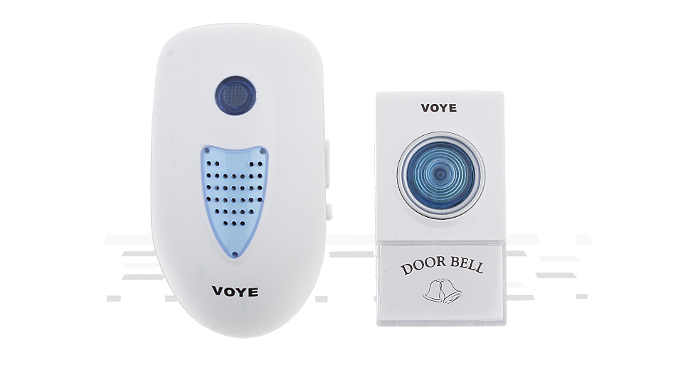VOYE V003A AC Wireless Doorbell Alarm