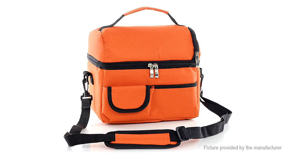 Portable Thermal Insulated Outdoor Camping Picnic Cooler Lunch Bag