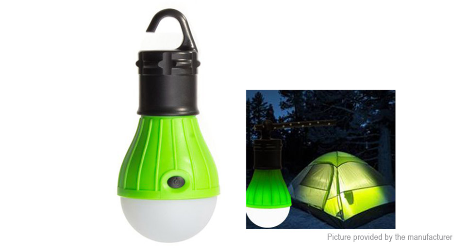 Solar Powered Outdoor Camping Tent Fishing Hanging LED Light Lamp