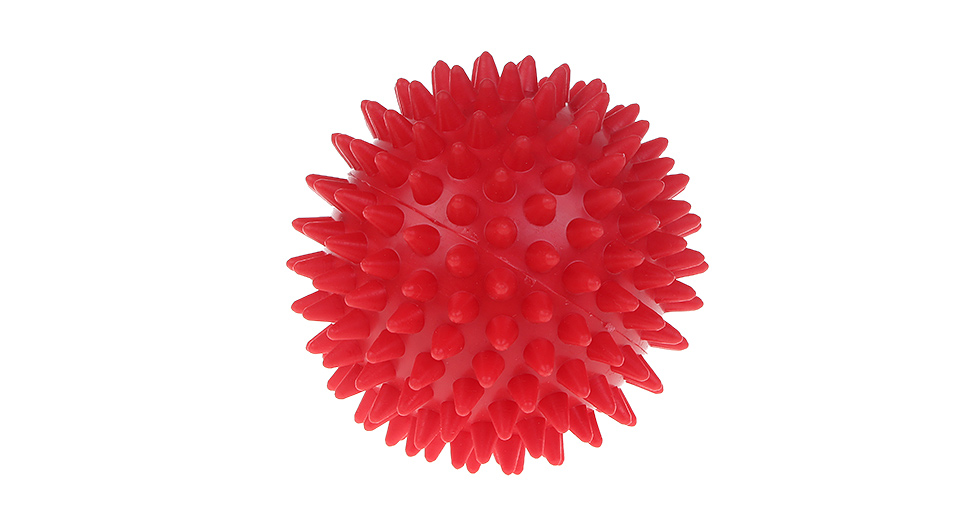 Spiky Acupoint Trigger Point Stimulating Stress Relief Yoga Massage Ball (7cm)