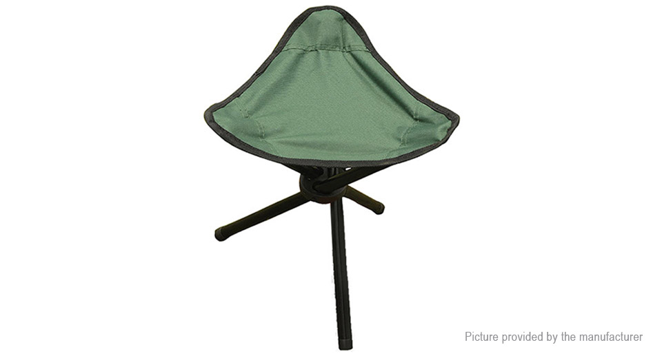 Authentic AOTU Outdoor Fishing Camping Folding Tripod Stool Chair