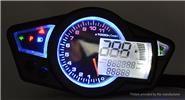 Buy CS-295 Multifunctional Motorcycle 2.5 inch LCD Display Odometer Speedometer Tachometer CS-295, Tachometer, Black