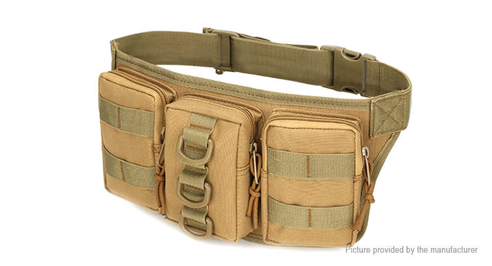 Image of A07 Outdoor Camping Hiking Oxford Waist Bag