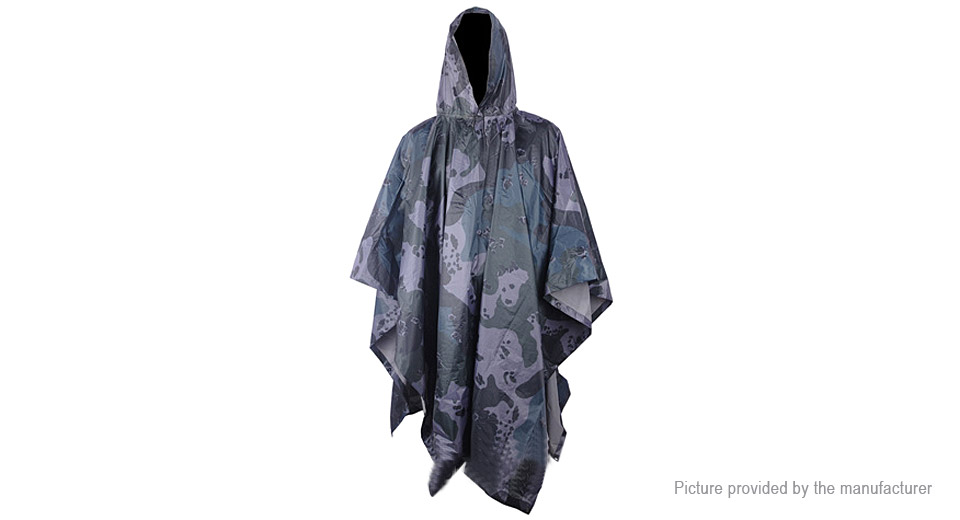 Multifunctional Outdoor Travelling Camping Cycling Raincoat
