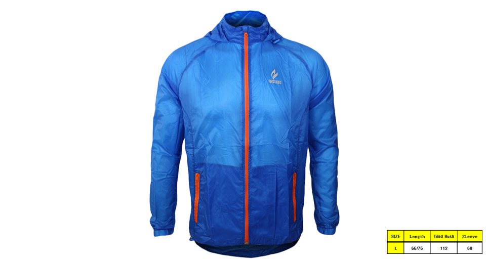 ARSUXEO 009A Men's Outdoor Sports Windproof Sun Protection Coat (Size L)