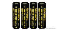 Buy Authentic BASEN IMR 18650 3.7V 2200mAh Rechargeable Li-Mn Batteries (4-Pack) IMR 18650, 2200mAh, 60A, 4-Pack for $22.33 in Fasttech store