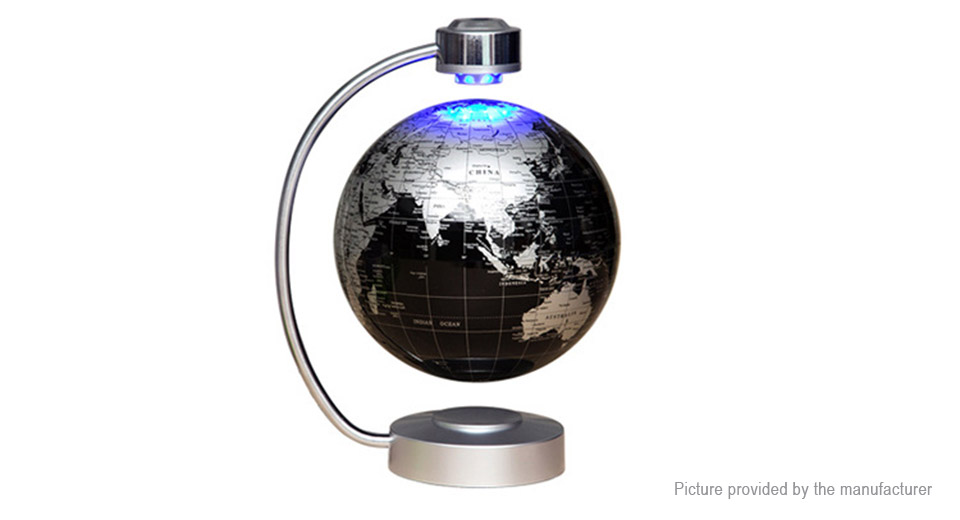 Magnetic Levitation Tellurion Floating Globe World Map
