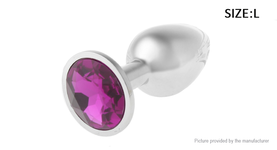 Adult Crystal Anal Plug Sex Toy (Size L)