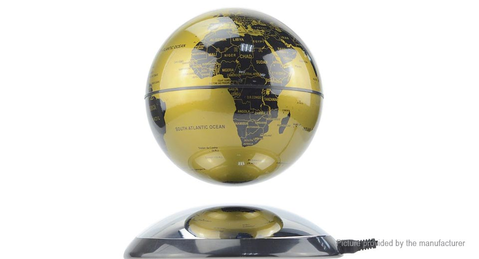 Jiada Magnetic Levitation Floating Globe World Map