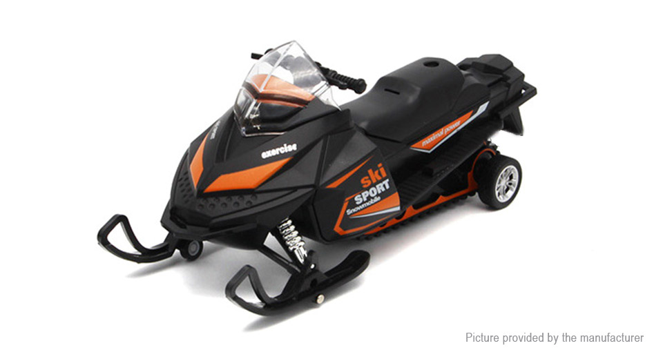 Image of 1:32 Realistic Snowmobile Model Toy