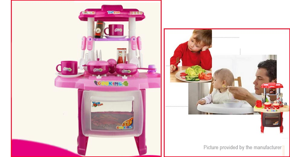 XINGPO RX1800 Kids Kitchen Cookware Pretend Role Play Toy Set