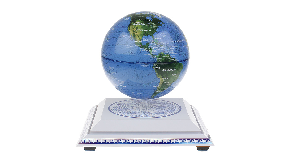 Jiada Magnetic Levitation Floating Globe ...