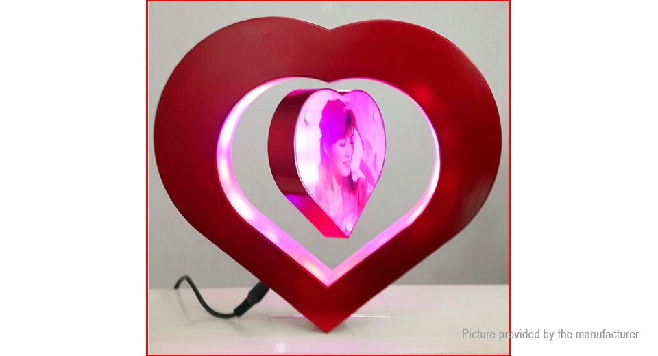 Jiada Magnetic Levitation Heart Shape ...