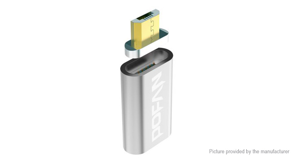 Product Image: pofan-p10-magnetic-micro-usb-converter-adapter