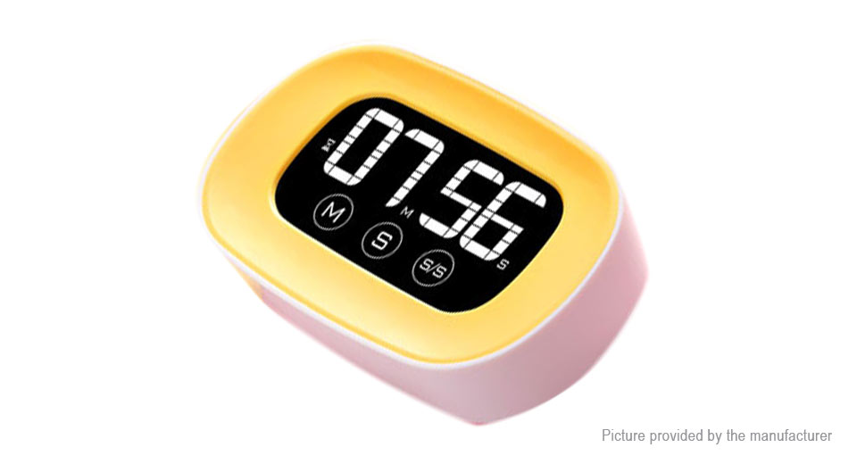HAPTIME YGH-125 LCD Digital Touch Screen Kitchen Timer