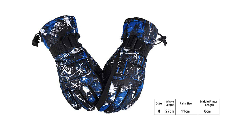 AS FISH Outdoor Cycling Full-finger Warm Keeping Gloves (Size M/Pair)