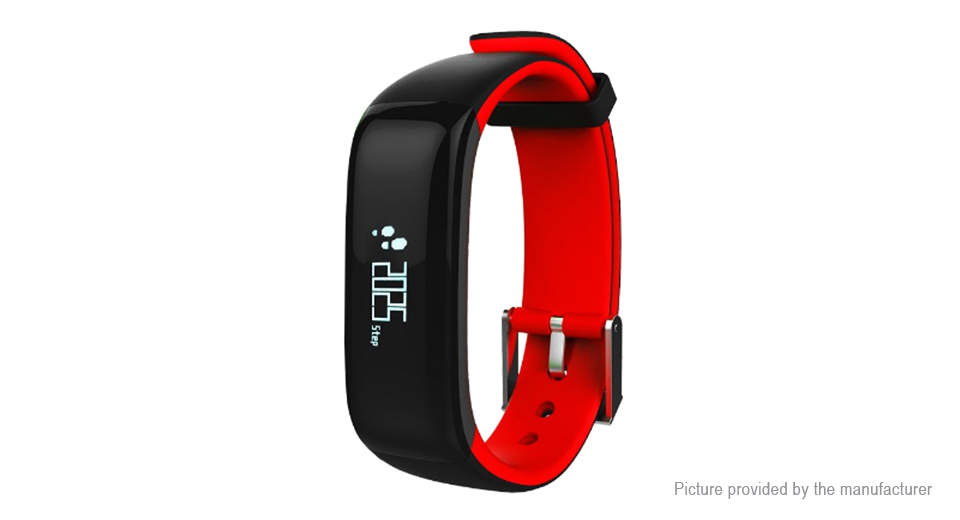 """P1 0.86"""" OLED Touch Screen Smart Wristband Bracelet"""