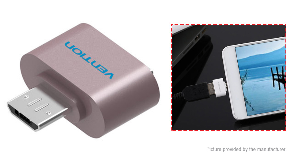 Vention VAS-A07 Micro-USB to USB 2.0 OTG Adapter