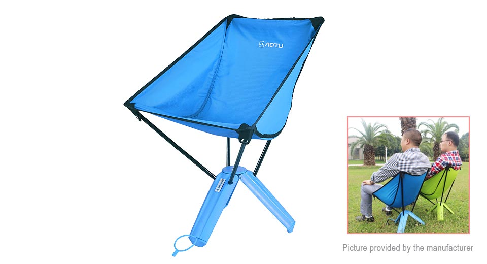 Authentic AOTU AT6748 Outdoor Fishing Camping Portable Folding Chair Seat