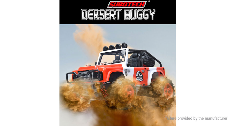 BG1511 2.4GHz R/C Off-road Racing Truck Desert Buggy BG1511, Red