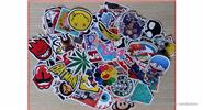 Buy Car Motorcycle Bicycle Skateboard Laptop Luggage Decal Stickers (100 Pieces) Style A, 100 Pieces