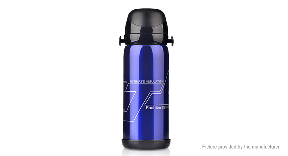 Stainless Steel Vacuum Insulated Drink Bottle Thermos Travel Mug Cup (800ml)