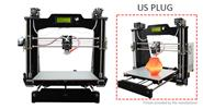 Authentic Geeetech Prusa I3 M201 Dual Extruder Mixcolor 3D Printer DIY Kit (US)