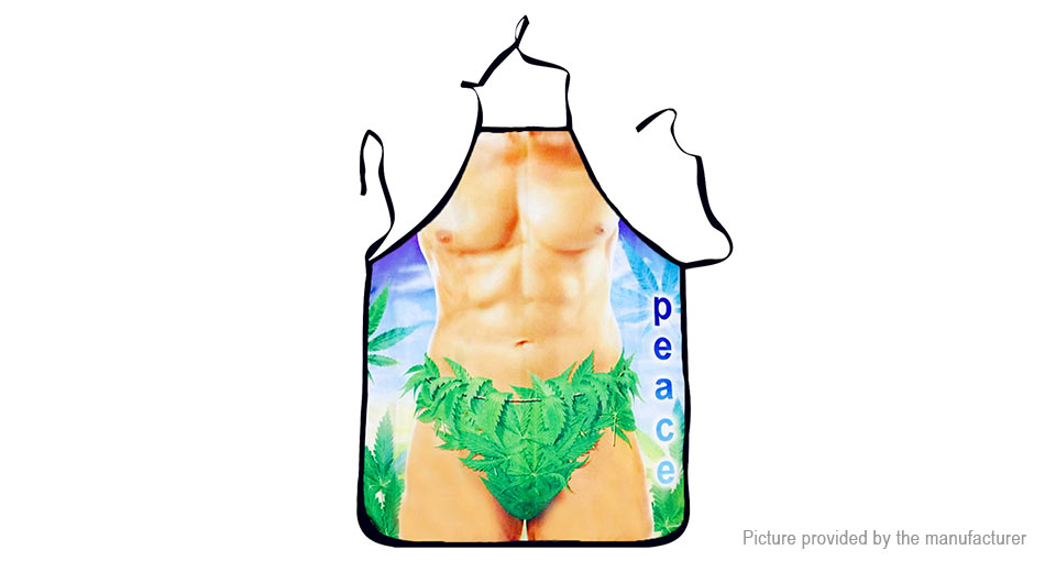 Creative Funny 3D Muscle Man Styled Kitchen Cooking Apron