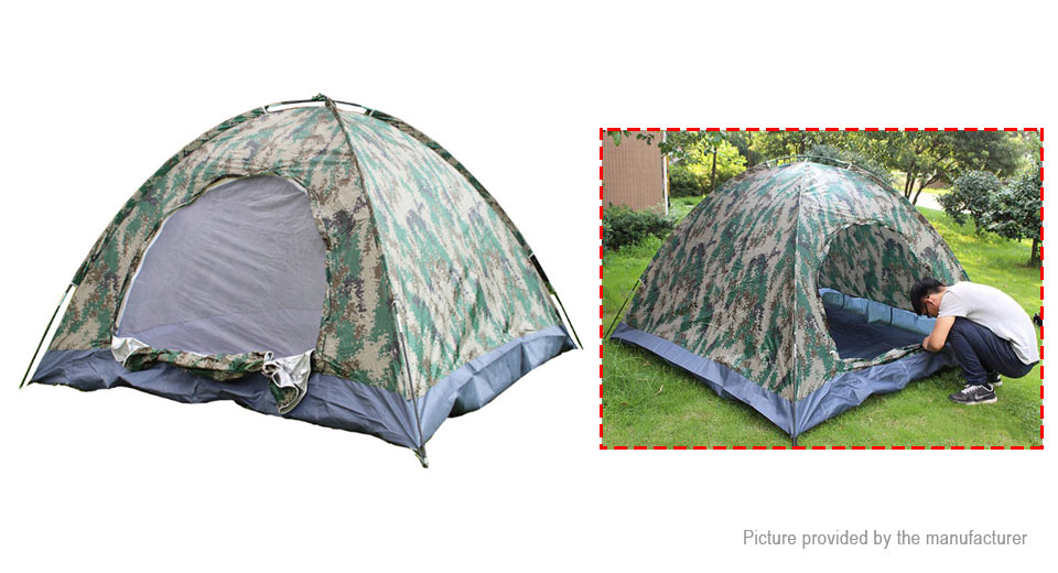 Authentic AOTU AT6511 3-4 Person 3-Season Camping Tent