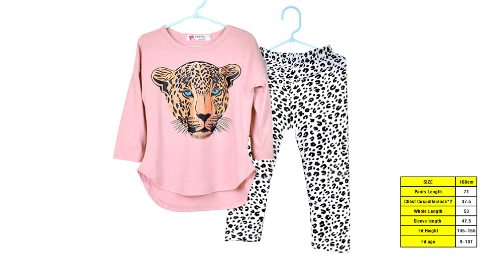Product Image: baby-girl-s-fashion-leopard-print-o-neck-shirt