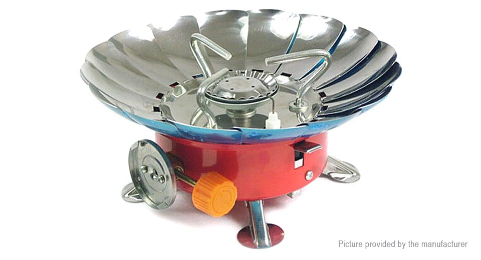 Authentic AOTU AT6310 Portable Outdoor Camping Picnic 1-Burner Gas Stove